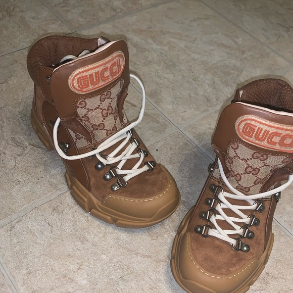 Gucci Shoes Womens Flashtrek Trekking Boots Poshmark